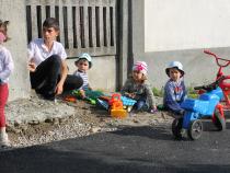 Copii la joaca  Foto: Crișan Andreescu