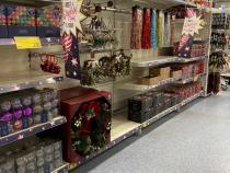 foto dintr-un supermarket din Marea Britanie, septembrie 2020