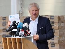 Daniel Tudorache  a distribuit 48.000 de tablete la toți elevii din Sectorul 1  Foto: Crișan Andreescu