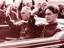 Ion Antonescu, alături de Horia Sima