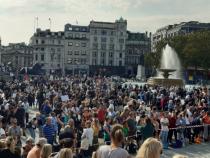 Proteste la Londra împotriva măsurilor impuse  de guvernul premierului Boris Johnson,