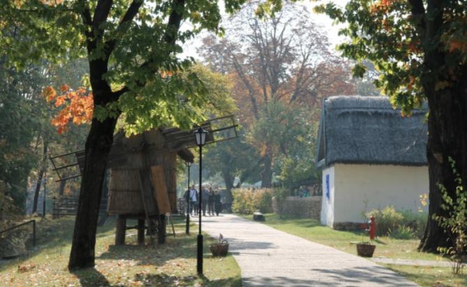 Uliță din Muzeul Satului  Foto: Crișan Andreescu