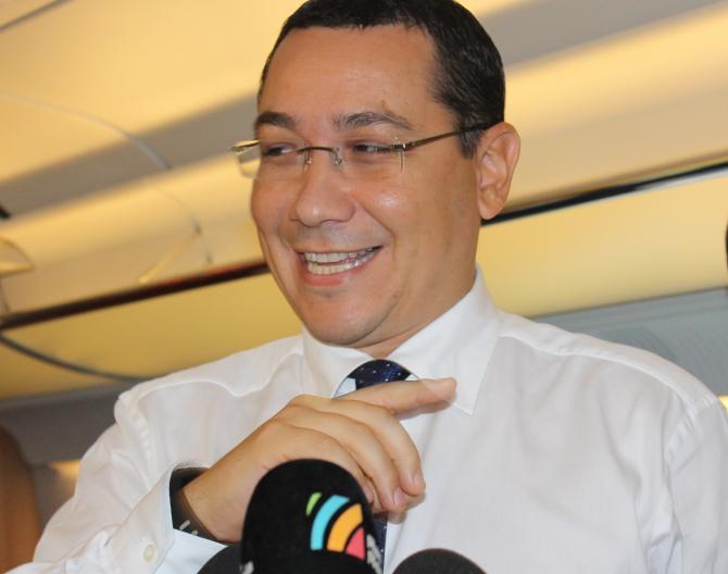 """Victor Ponta: Mă bucur ca acum suntem condusi de """"OAMENII NOI"""". Foto: Crișan Andreescu"""