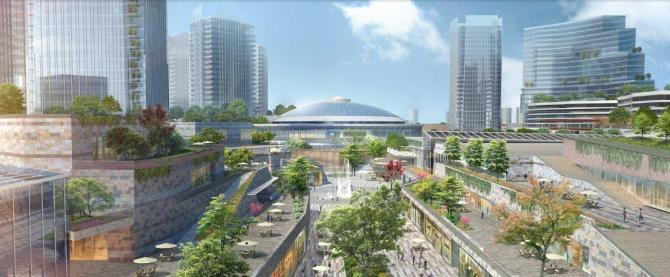 Complexului Expozițional Romexpo va fi transformat într-o zonă de dezvoltare bazat pe un concept mixed-use unic