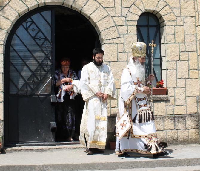 IPS Teodosie la Mănăstirea Sf. Andrei  Foto: Crișan Andreescu