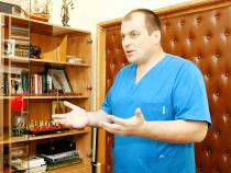 Dr. Victor Cauni  Foto: Facebook Administrația Spitalelor
