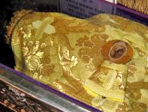 Moaștele Sfântului Dimitrie cel Nou  Foto: Creștin-Ortodox