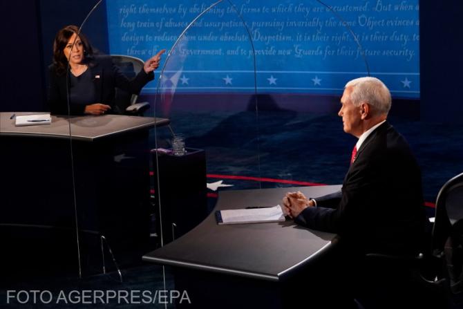 Kamala Harris - Mike Pence, o dezbatere fără niciun câștigător