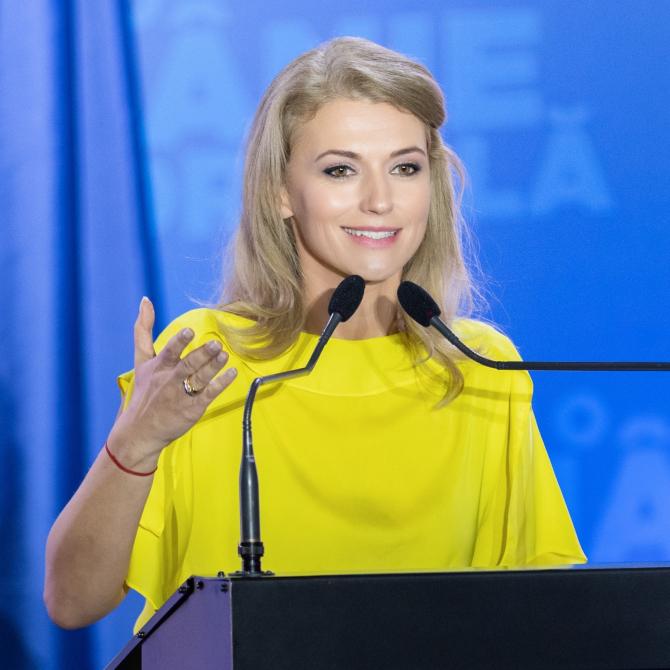 Alina Gorghiu: E nevoie de un nou Parlament   Foto: Facebook