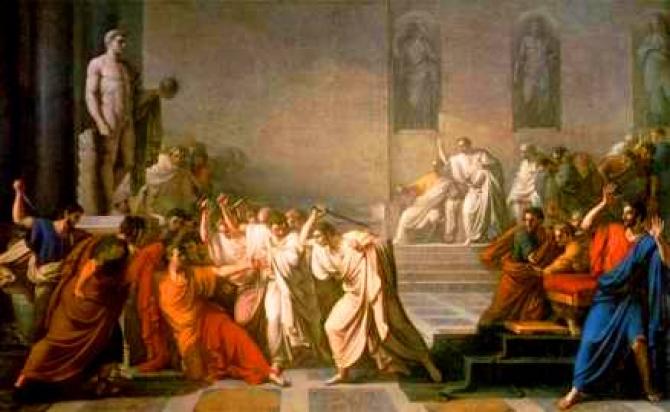 Asasinarea lui Cezar (pictură)