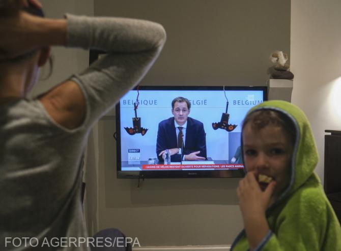 Foto: Agerpres. Premierul se adresează națiunii