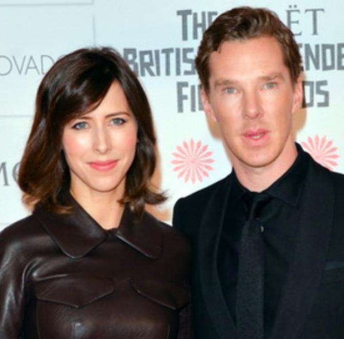 Foto: Benedict Cumberbatch și Sophie Hunter/Autor: See Li via Flickr
