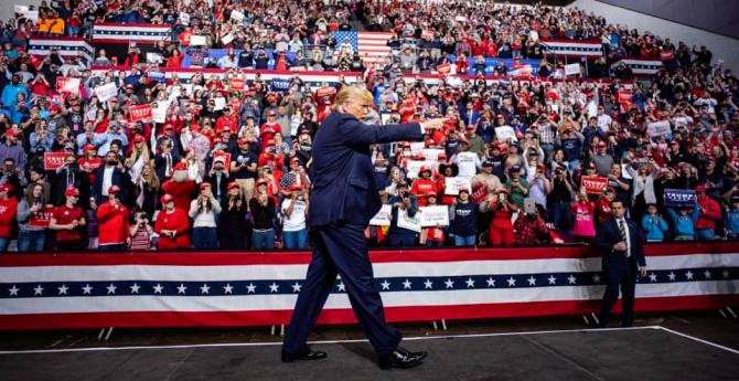 Sursă foto: Donald J. Trump - Facebook