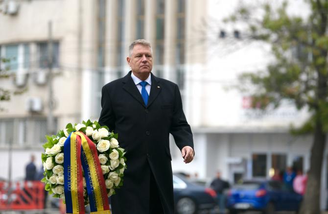 Klaus Iohannis la Colectiv, 2019  Foto: Administrația Prezidențială