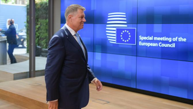 Klaus Iohannis, din nou la Bruxelles