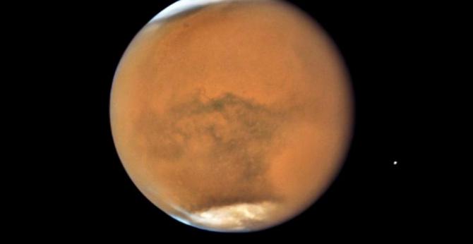 Anul pe Marte durează doi ani pământești  Foto: NASA