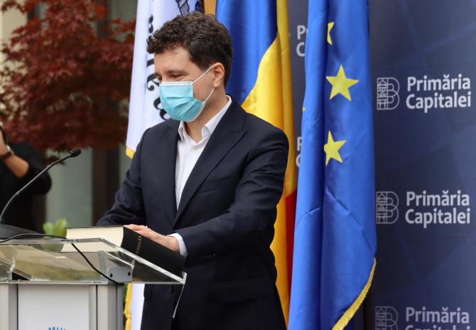 Nicușor Dan: Un test PCR este 50 de euro. Foto: Crișan Andreescu