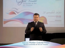 Marilen Pirtea, rectorul UVT