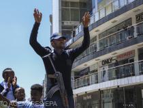 Foto: Agerpres. Polițist etiopian care susține guvernul federal