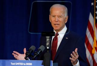 Joe Biden, cea mai în vârstă persoană care va prelua preşedinţia americană