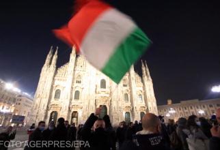Protest anti-restricții Italia