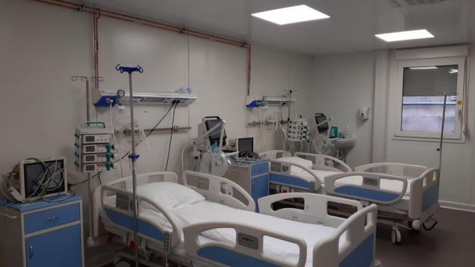 Paturi ATI (terapie intensivă) Foto: Consiliul Județean Sibiu