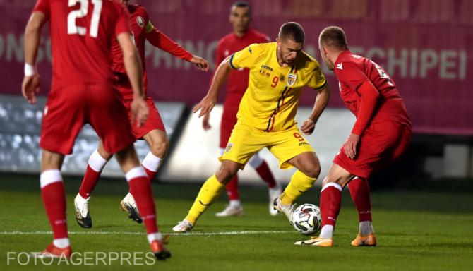 Meciul amical de fotbal dintre Romania si Belarus, desfasurat pe stadionul 'Ilie Oana' din Ploiesti