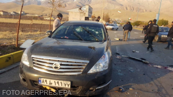 Mohsen Fakhrizadeh, directorul programului nuclear din Iran a fost asasinat lângă Teheran