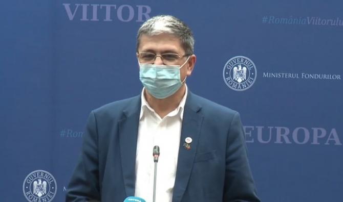 Marcel Boloș: Astăzi avem 8,8 miliarde de euro cifră de absorbţie