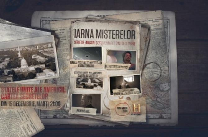 Iarna Misterelor, o nouă serie de documentare la History, din 1 decembrie