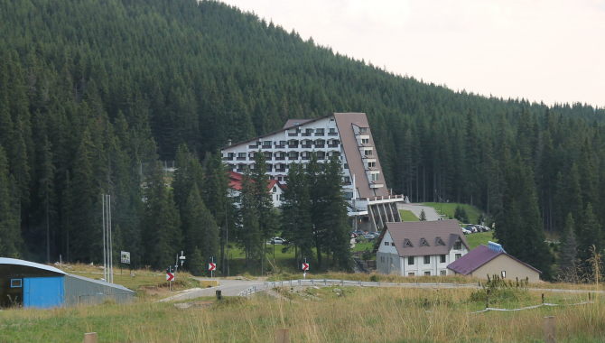 Hotel Peștera  Foto: Crișan Andreescu