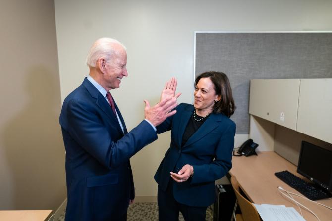 Joe Biden și Kamala Harris, alegerea sa pentru funcția de vicepreședinte, sursă foto: Joe Biden Facebook