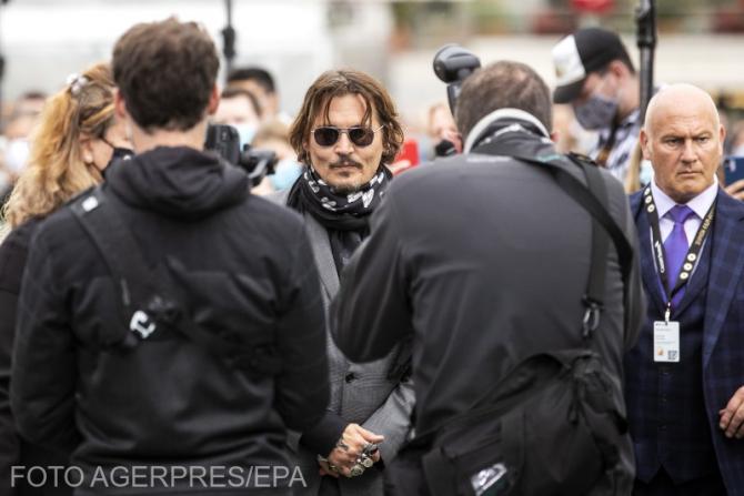 Johnny Depp, la procesul cu The Sun