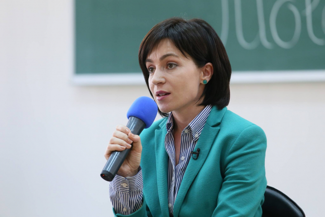 Maia Sandu, președintele ales al Moldovei  Foto: Facebook