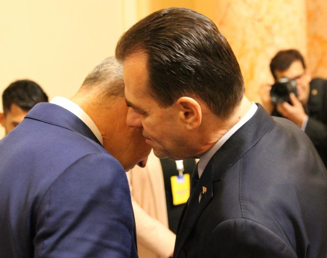 Rares Bogdan, Ludovic Orban  Foto: Crișan Andreescu