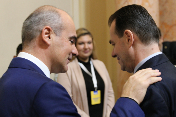 Rareș Bogdan, unul dintre contestatarii fostului premier  Foto: Crișan Andreescu