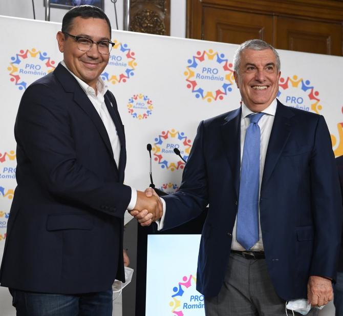 Călin Popescu Tăriceanu și Victor Ponta  Foto: Facebook