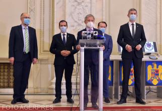 Liderii coaliției de guvernare PNL - USR-PLUS - UDMR