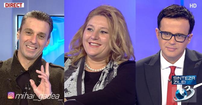 Mircea Badea, Diana Șoșoacă și Mihai Gâdea