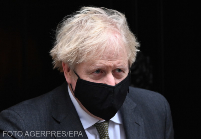 Premierul Marii Britanii, Boris Johnson