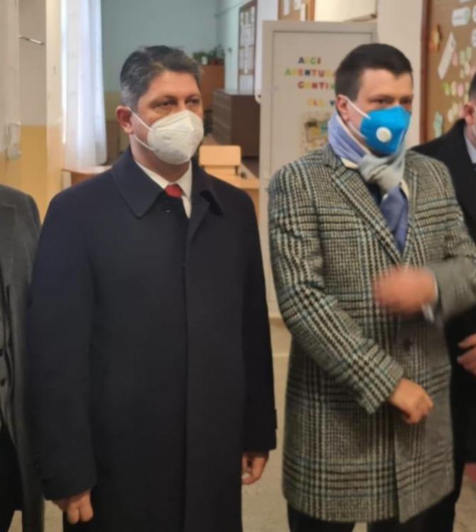 Titus Corlățean și Ioan Vulpescu