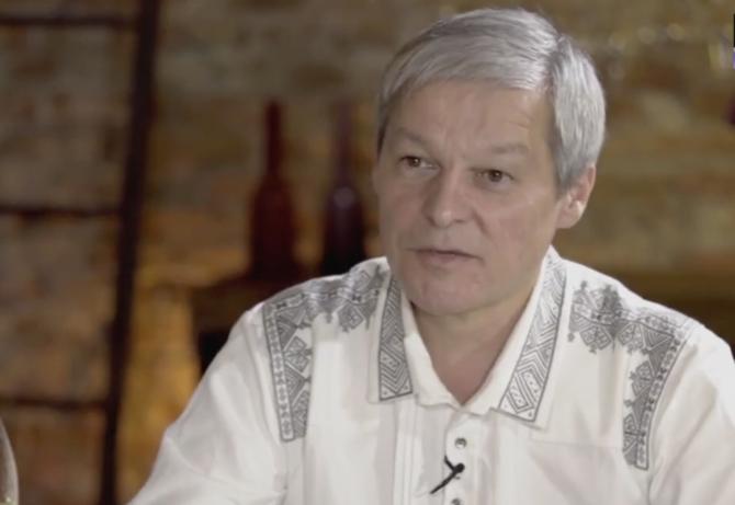 Dacian Cioloș, captură Digi24