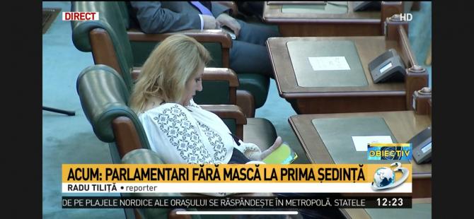 Șoșoacă / Captură Antena 3