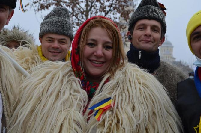 Diana Șoșoacă (AUR) / Foto: Facebook