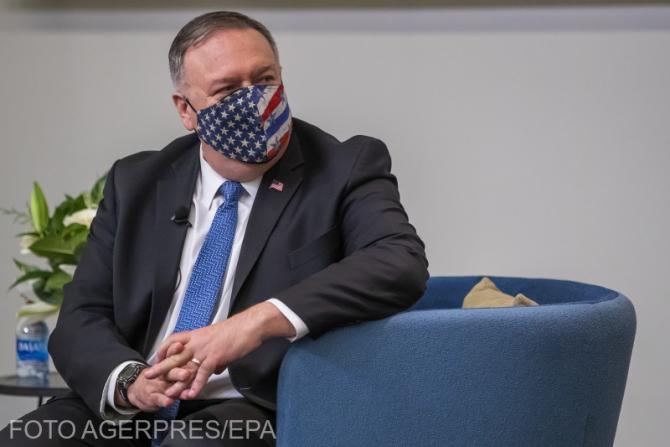 Mike Pompeo a anunţat că Statele Unite impun sancţiuni împotriva liderilor Al-Qaida din Iran