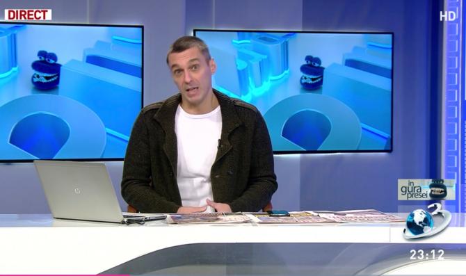 Mircea Badea se miră de cum arată Jurnalul Național