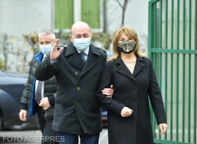 Fostul președinte al României, Traian Băsescu