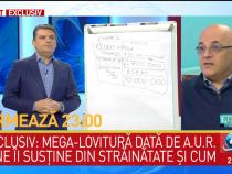 Raed Arafat a primit un sms în direct la Antena 3