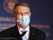 Klaus Iohannis s-a vaccinat vineri anti-Covid-19  / Foto Agerpres