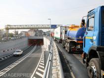 Circulația dintre Pitești și Râmnicu Vâlcea, restricționată pentru tonaje mai mari de 7,5 t